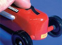 Things to know for next year  Pinewood derby car.