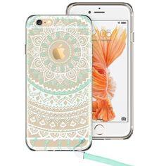 iphone 6s plus rose gold clear mandala case - Google Search