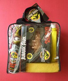1992 Jurassic Park Deluxe Travel Pack