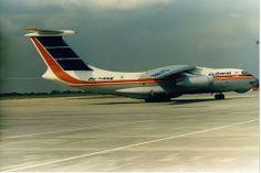 London Stansted Airport Cubana CU-T1258 Ilyushin IL-76TD