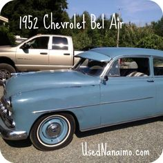 1952 Chevrolet. Put some vintage rock n roll on your radio and cruise. From our vintage car round up blog.