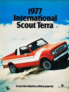 1977 International Scout Terra by aldenjewell, via Flickr