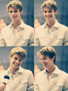 Colin Ford; lil sam winchester...not so little anymore.