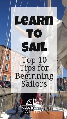 When I asked a German Navy veteran to teach me to sail, I discovered quickly that learning to sail is a lifetime commitment and not just a one-course seminar. I often tell people that when you sail for the first time, you have one of two experiences. It either becomes a one-time, bucket-list thing t Sailing Day, Ocean Sailing, Sailing Ships, Sailboat Living, Living On A Boat, Yacht Design, Boat Design, Sailing Lessons, Sailing Basics