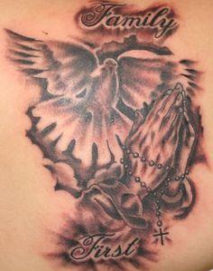 praying hands tattoo | praying hands tattoo