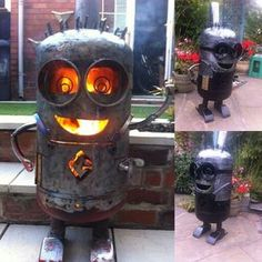 Minion Log Burner  Check out our community…
