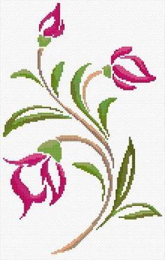 Tiny Cross Stitch, Cross Stitch Heart, Cross Stitch Borders, Simple Cross Stitch, Cross Stitch Flowers, Cross Stitch Designs, Modern Cross Stitch, Cross Stitching, Cross Stitch Patterns