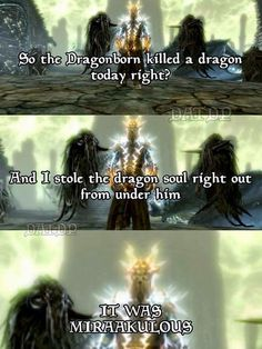 Skyrim - Miraak - Dragonborn I HATE it when he steals my dragon soul! I earned it not you!!! But usually if I reload the save to right before I killed the  dragon he will not steal the soul.