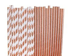 Planning an engagement or wedding party? Check out these rose gold party straws! Wedding Planning on a Budget // Engagement Party Supplies Gold Bridal Showers, Gold Baby Showers, Bridal Shower Party, Party Wedding, Wedding Ideas, Rose Gold Theme, Rose Gold Decor, Gold Birthday Party, 1st Birthday Parties