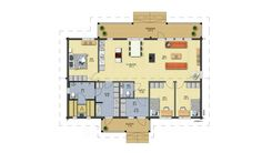 Small House Plans, Sweet Home, Floor Plans, How To Plan, Heel, Little House Plans, Tiny House Plans, House Beautiful, Small House Layout