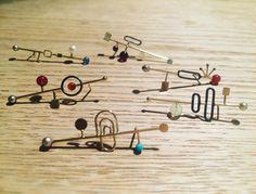 """Playground"" ørestikker #ørestikker #øreringe #playground #smykker #guld #sølv #sten #perler #håndlavet #håndlavedesmykker #handcraftedjewelry #handcrafted #handmade #jewelry #jewellery #finejewelry #earstuds #guldsmed #danishdesign #saskiabesiakov #contemporaryjewlery"