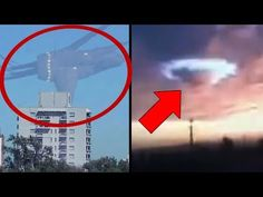 10 Most Mysterious Sky Phenomena Caught On Tape! - YouTube