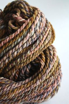 CHARLES handspun yarn.