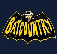Awesome of the Day: Hunter S. Thompson / Batman shirt | The 10 ...