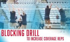 Working on coverage usually means isolating your back row! Incorporate your whole team while working on coverage reps with this dual-purpose blocking drill. Volleyball Training, Volleyball Workouts, Coaching Volleyball, Volleyball Hairstyles, Back Row, College Football, Athlete, Sports, Purpose