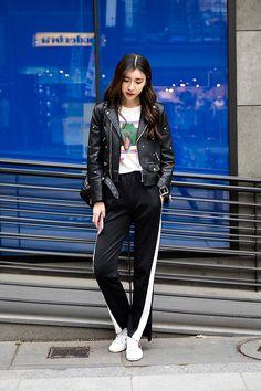 Amy, Street Fashion 2017 in Seoul