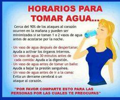 Tomar agua!!