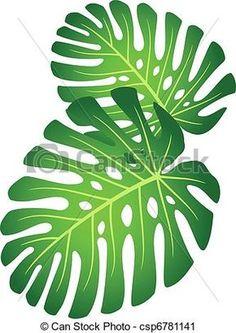 desenho folhas tropicais - Pesquisa Google