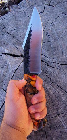 Semi-Custom Pit Bull Knife by Joe Loui Knives