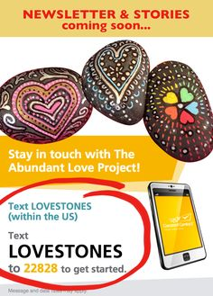 """Remember, you are loved. There is always someone out there thinking of you and a reason to keep fighting. You are SO loved. If nothing else, look up The Abundant Love Project on Facebook and read the stories of people finding and making """"love stones"""" around the world❤️ #youareloved #abundantloveproject https://www.facebook.com/abundantloveproject/"""