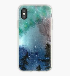 Northern Lights iPhone Case Northern Lights, Ipad, Iphone Cases, Illustration, Artwork, Design, Work Of Art, Auguste Rodin Artwork, Aurora Borealis