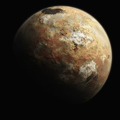 NASA released high quality renderings of Pluto