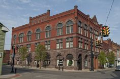The Bradfield Building in Barnesville, Ohio. #ohio #historic