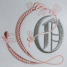 Fleur de Lis Alphabet- O