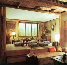 tatami room - could be a great bedroom/yoga/meditation space if kept free of furniture, perhaps with a sliding shoji divider