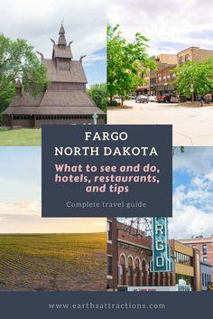 Your complete travel guide to Fargo, North Dakota, USA