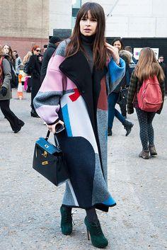Лондон, гудбай: 100 стритстайл-образов гостей Недели моды