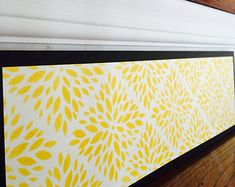 Geometric Floral / Moroccan Decor / Moroccan Lattice / Modern Dahlia / Alternative to Stair Decals, Stair Riser Decals & Stickers / Item 069
