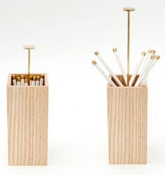 Pencil holder. LOVE these. not for $75 but pinned some DIY versions worth considering. or maybeee for $75 if we are wayyy under buget...;)