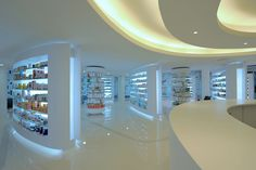 Pharmacy Design | Retail Design | Store Design | Pharmacy Shelving | Pharmacy Furniture | Placebo pharmacy by KLab Architecture, Athens store design