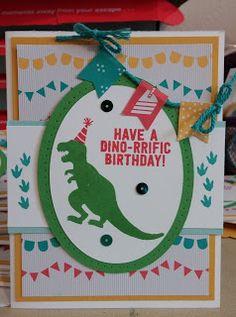 Stampin Fun : No Bones About It Birthday