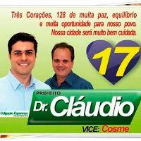 Folha do Sul - Blog do Paulão no ar desde 15/4/2012: TRÊS CORAÇÕES: PREFEITO ACORDA CEDE E VAI CONFERIR...