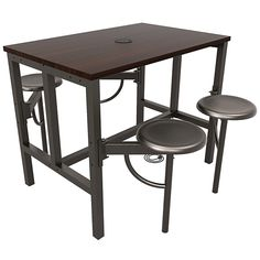 Demco.com - OFM Endure Series Standing Height Four Seat Table