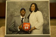 Photos: Clippers' Players and their Moms