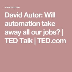 will automation take away all our jobs