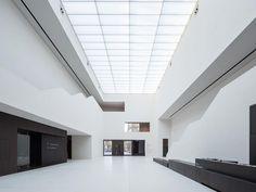 STAAB ARCHITEKTEN / Volker Staab - MUSEUM FÜR KUNST UND KULTUR. luminous ceiling.
