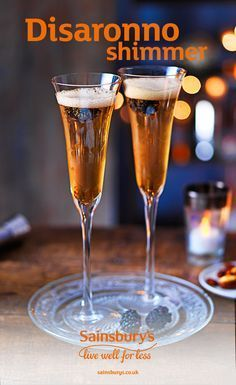 Transform your prossecco with this festive twist. Add a little Disaronno and a handful of fresh blackverries to make the perfect fizzy cocktail. A simple cocktail, ideal for Christmas and New Years Eve.
