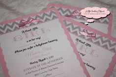 The Annabelle Collection  Pink and Gray by ALSDCreativeDesign, $18.50