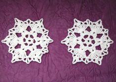 Vánoční ozdoby - 2 ks Crochet Earrings, Jewelry, Jewlery, Jewerly, Schmuck, Jewels, Jewelery, Fine Jewelry, Jewel