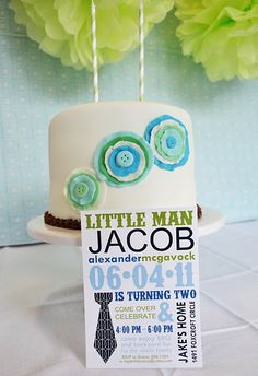 Real Party: Blue and Green Little Man Mustache Birthday Little Man Shower, Little Man Party, Little Man Birthday, First Birthday Parties, First Birthdays, Birthday Ideas, Mustache Birthday, Mustache Theme, Mustache Party