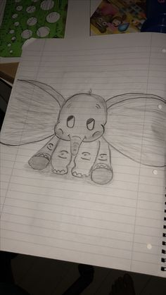 Dumbo is in the house  Yeah that was mu first atempt to draw dumbo and sorry for my english hope you like it