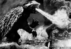 In Gamera (1965), an ancient giant turtle monster is unleashed from its icy tomb by an atom bomb only to terrorize the entire country of Japan