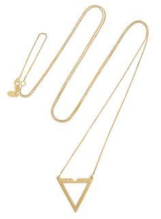 The Jumpsuit, Maria Black vixen gold-plated necklace / Garance Doré