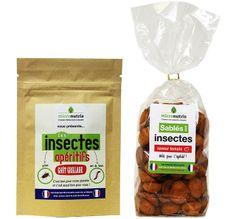 Le Carrefour Labège a référencé en mars 2014 une gamme de 7 produits à base d'insectes