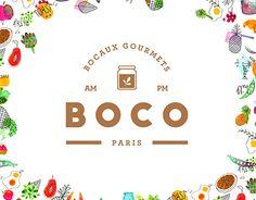 Boco illustrated branding design