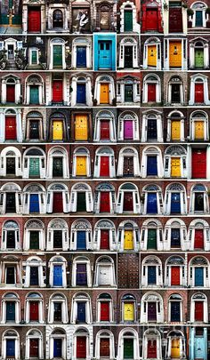 Ninety Dublin Doors Photograph by John Rizzuto - Ninety Dublin Doors Fine Art Prints and Posters for Sale